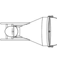 Betonsilo / Betonbombe 47 - Hebel + Traverse