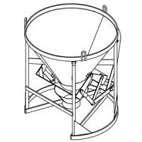 Betonsilo / Betonbombe 43 - Hebel + Kette
