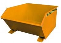 Kippbehälter GU 1000, lackiert, Gelborange
