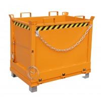 Klappbodenbehälter FB 750, lackiert, Gelborange